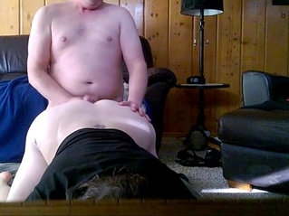 Cheating bbw neighbor drops by to suck fuck