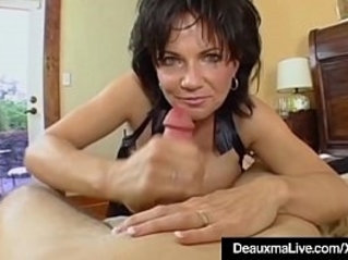 Mature Milf Deauxma Has Big Squirting With Boy Toy!