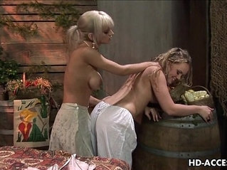 Hottest blonde action that will see