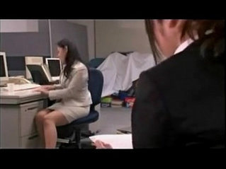 There is a squirting dildo in the office