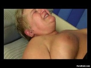 BBW granny gets team fucked in different positions