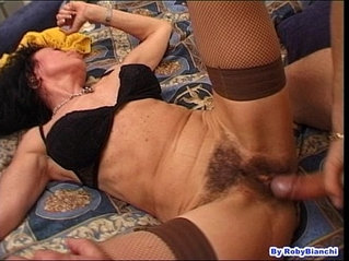 Over 60 with hairy pussy fucks in the ass with your big cock fausto moreno