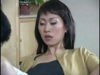 Asian housewife with a dildo salesman