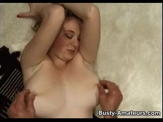 Busty samantha rammed and gets jizzload all over her body