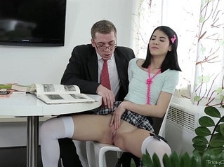 Tricky old teacher jody played with pussy