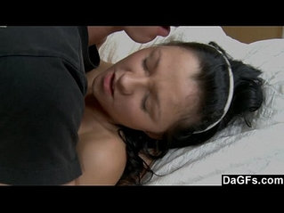 Orgasming In Daddys Bed