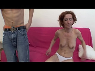 MATURE MAID SEX WITH YOUNG BOY AT HOME !!