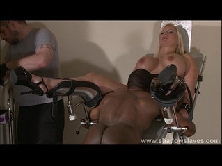 Clinic domination medical fetish of Melanie Moon in pussy stabling punishment an